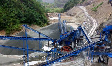 Dây Chuyền Sản Xuất Cát Từ Sỏi-Pebble Sand Making Plant