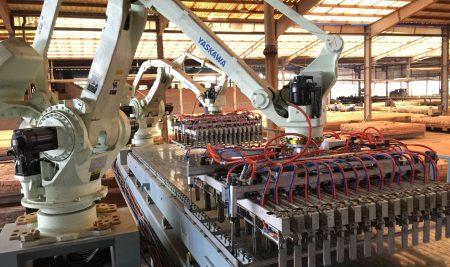 Những lữu ý khi đầu tư dây chuyền robot xếp gạch cho lò gạch tuynel